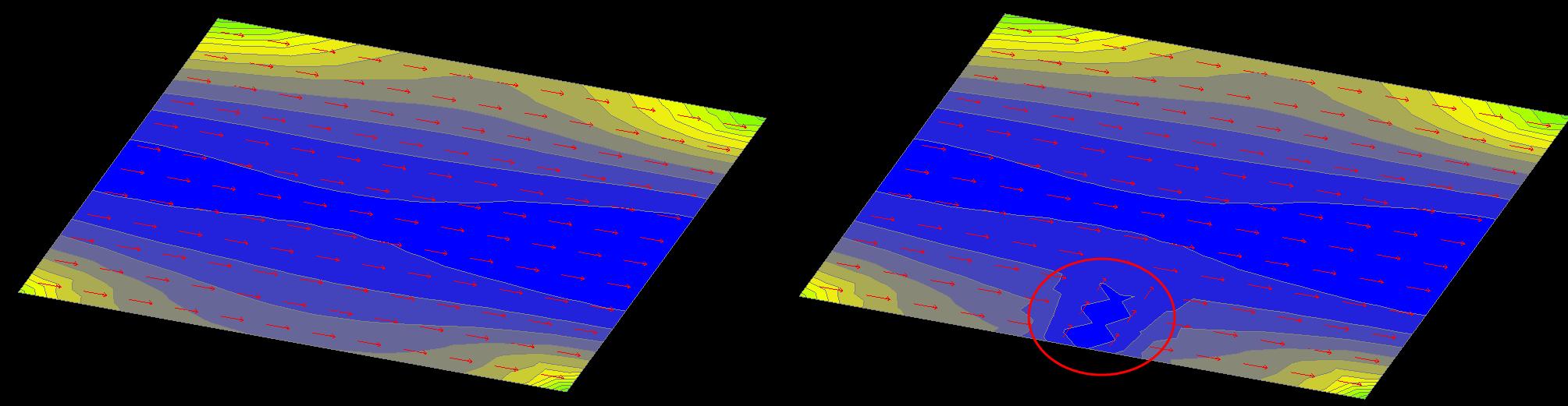 Неправильный вывод о несущей способности плиты - вектор N